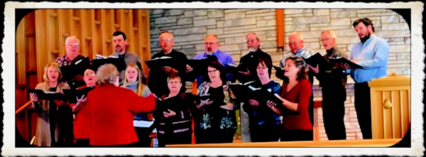 Choir, 1st Presbyterian Church, LeRoy MN